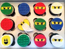 How To Make Lego Ninjago Cupcakes | Lego ninjago birthday, Lego ...