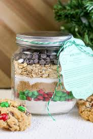 m m cookie mix in a jar a yummy gift