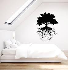 Vinyl Wall Decal Family Tree Roots Ecology Nature Stickers 3667ig Wallstickers4you