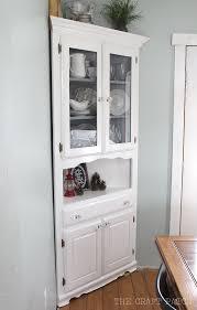 corner hutch furniture makeover the