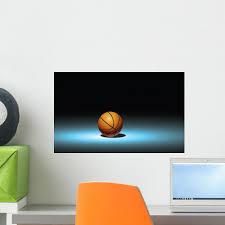 Dramatic Basketball Wall Decal Wallmonkeys Com