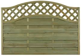 Woodbury Premium Slatted Fence Panel W 1 8m H 1 04m Departments Diy At B Amp Q Slatted Fence Panels Timber Fence Panels Fence Panels