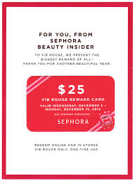 sephora 25 off 50 gift card for