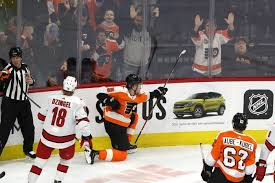 The Philadelphia Flyers' Ivan Provorov has another big night in ...