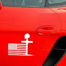 Qypf 18cm 15 2cm U S A Flag Fallen Soldier Cross And Helmet Fun Decal Car Sticker Black Silver Vinyl C15 0473 Car Stickers Aliexpress