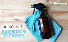 natural bathroom cleaner recipe for