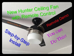 hunter ceiling fan model