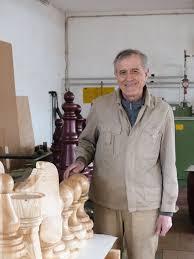 Besuch beim Drechslermeister Paul Schnee in Denkingen. Königliches Spiel -  BM online
