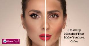 6 makeup mistakes that make you look older