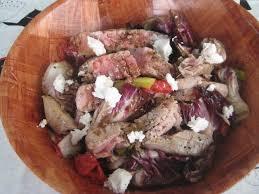 Grilled Ahi Tuna and Greens Salad Recipe