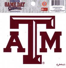 Amazon Com Ncaa Texas A M Aggies Small Window Decal Stickers Sports Fan Decals Sports Outdoors