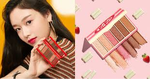 these etude house kitkat palettes are