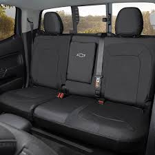 rear fitted seat cover black crew cab
