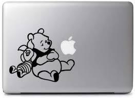 Amazon Com Cute Winnie The Pooh Piglet For Macbook Air Pro Laptop Car Vinyl Decal Sticker Computers Accessories