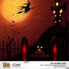 Happy #Halloween ❤ - LED Expo Thailand