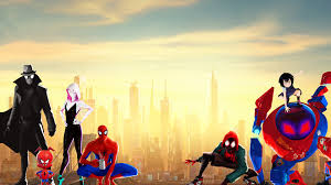 spider man into the spider verse 4k 8k
