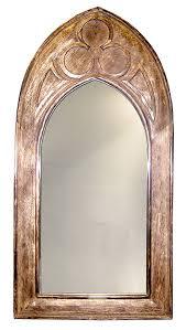 mango wood gothic mirror small 29 00