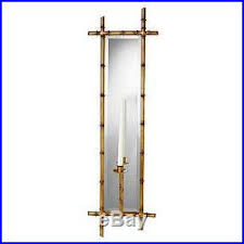 garden bamboo wall sconce candle holder