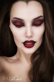 halloween devil makeup