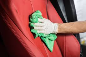 how to clean leather car seats keep