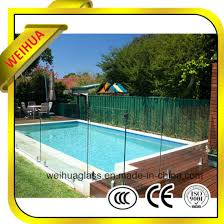 China Hot Sale High Quality Tempered Glass Fence Panels With Ce Ccc Iso9001 China Tempered Glass Fence Panels Glass Fence Panels