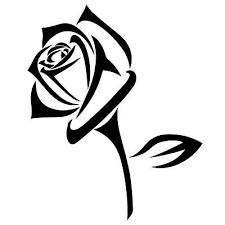 Rose Vinyl Decal Sticker For Car Or Truck Windows Laptops Etc Ebay