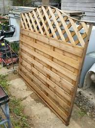 Arched Fence Panel 6 Wide Lattice Curved Top 6 Foot Wide Garden Fence Ebay