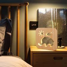 Table Lamp Constr Interior Lighting Lovely Elephant Sun Cloud Led Night Light Usb Kids Room Bedside Table Lamp Decor Amazon Com