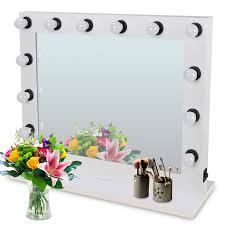 zeny hollywood vanity mirror with light