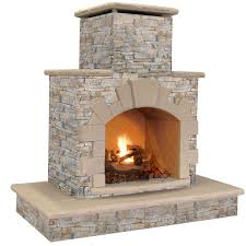 wood burning outdoor fireplaces up to