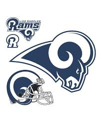 Fathead Los Angeles Rams Logo Large Wall Decal Set Best Price And Reviews Zulily