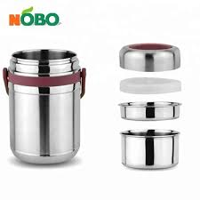 hot stainless steel food carrier