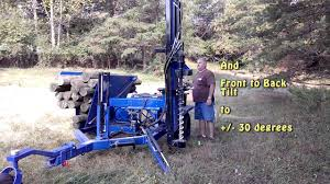 Fence Post Driver Self Propelled Extreme Driver Youtube