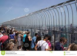 New York Usa May 25 2018 Empire State Building Crowded Of Tourists Editorial Stock Image Image Of America Architecture 118328864