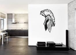 Ik188 Wall Decal Sticker Decor Helmet Spartan Sparta City Greece Legio Stickersforlife