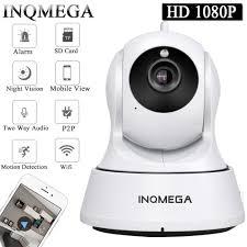 Inqmega Cloud 1080P Camera IP Không Dây Tự Động Theo Dõi Gia Camera An Ninh Giám  Sát Camera Wifi Camera Quan Sát Trẻ Em