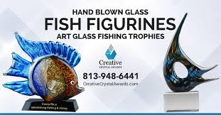 fishing trophies fish figurines