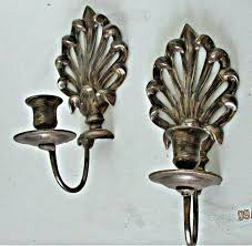 antique white candle sconces wall