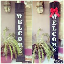 Art Creations Welcome Sign Fence Board And Solid Board Facebook