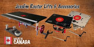 Jessem Router Lifts And Accessories Made In Canada The Tool Corner