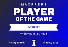 Ivy Hayes' (Whiteville, NC) Awards   MaxPreps