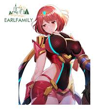 Earlfamily 13cm X 9 3cm Hot Girl Anime Pyra Homura Render Car Motorcycle Tuning Decal Sticker Window Wiper Decals Car Styling Buy At The Price Of 1 45 In Aliexpress Com Imall Com