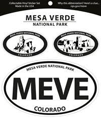 Stickers Decals Stamps Mesa Verde Museum Association