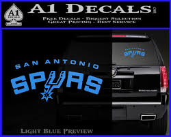 San Antonio Spurs Car Window Decal Sticker Auto Parts And Vehicles Car Truck Graphics Decals Magenta Cl