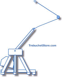how a trebuchet catapult works