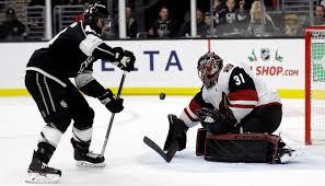 Hill climbing: Coyotes riding wave of success behind young goaltender |  Arizona Sports | azfamily.com