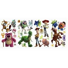 Toy Story 3 Peel And Stick Wall Decal Glow In The Dark Target