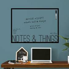 Ebern Designs Message Board Chalkboard Wall Decal Wayfair