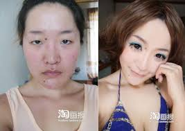 makeup transformations from ugly to