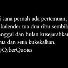 cyber quotes on sayang sampai kapanpun akan kusimpan